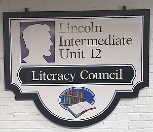 FLC Literacy Council sign