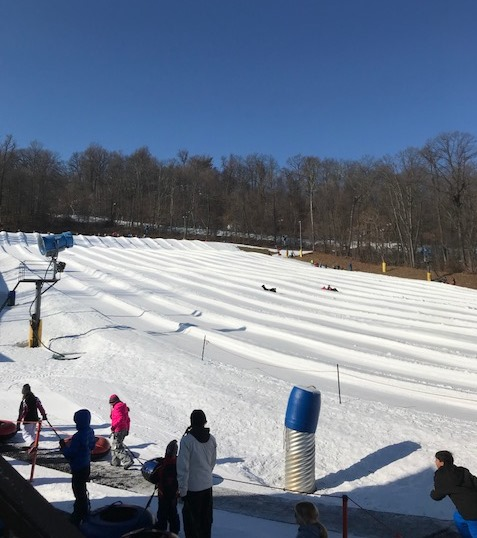 LIU students on the slopes