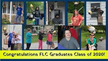 a collage of FLC students who are graduating this year